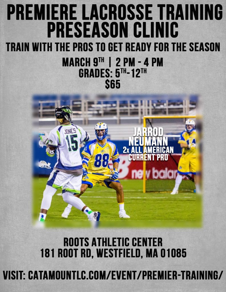 Premier Training Flyer