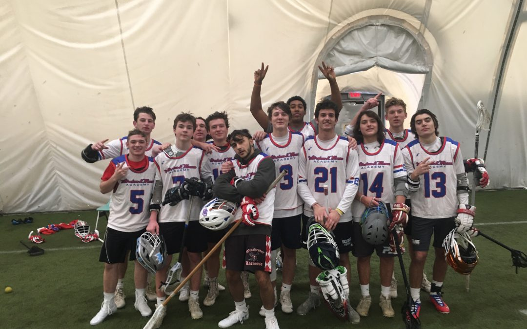 Mass Lax Tops Goons in Yuletide